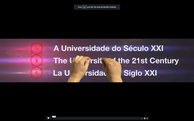 Encuentro Mundial de Rectores de Rio de Janeiro Banco santander 3D VFX COMPOSITION DIRECCION VISUAL LOOP